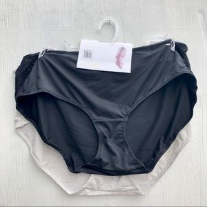Jessica Simpson 2pk full figure panties